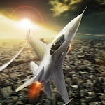 Fly Airplane Fighter Jets 3D Icon