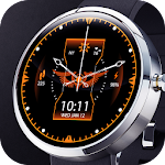 Dark Sky Digital Watch Face Icon