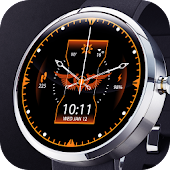 Dark Sky Digital Watch Face