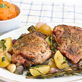 Herb Roasted Turkey Thighs.