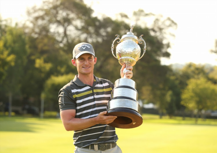 Chris Paisley during the day 4 of the 2018 BMW SA Open Championship at Glendower Golf Club on January 14, 2018 in Johannesburg, South Africa. EDITOR'S NOTE: For free editorial use. Not available for sale. No commercial usage.
