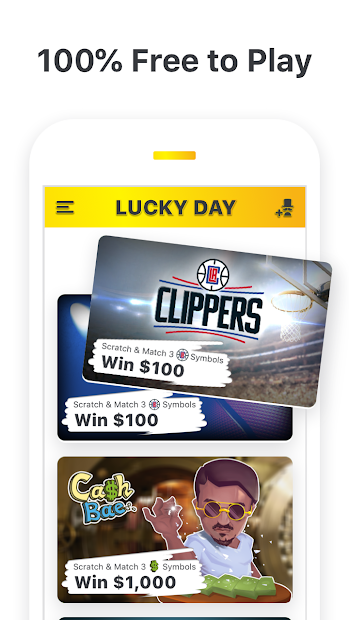 Lucky Day - Win Real Money Android App Screenshot