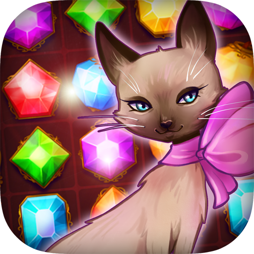 Fancy Treasure Cat: Jewel Gems 休閒 App LOGO-APP開箱王