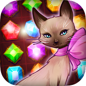Fancy Treasure Cat: Jewel Gems