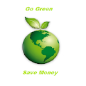 Go Green Save Money icon