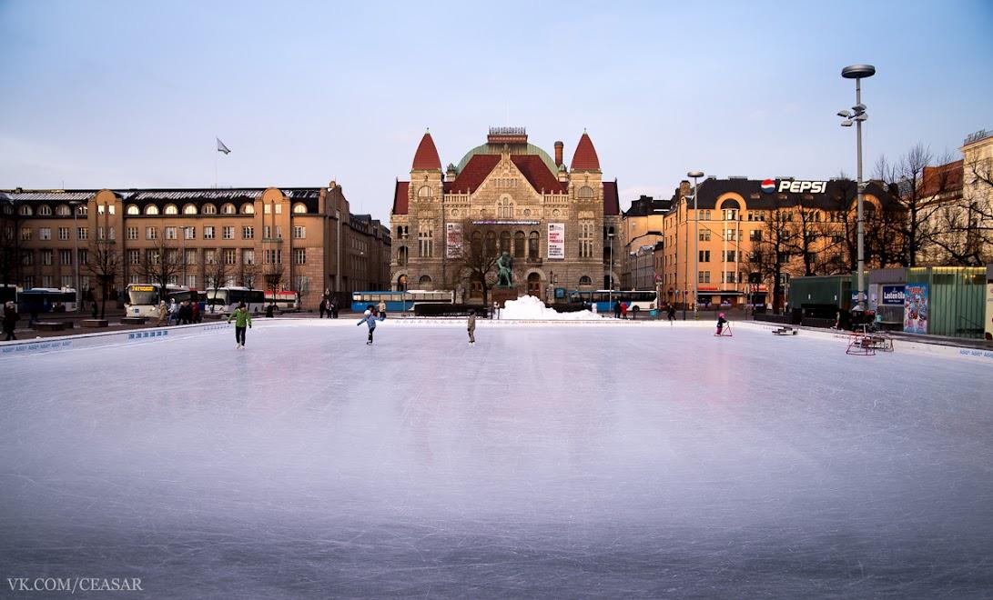 Каток, Хельсинки