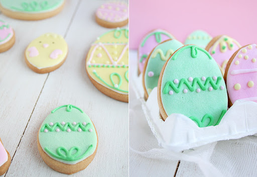 Galletas decoradas Pascua