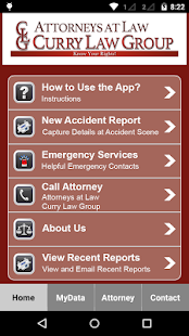 Curry Law Group Accident App- screenshot thumbnail