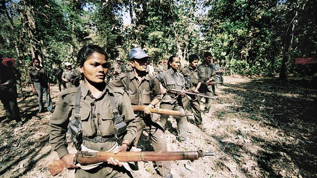 Naxals traning camp in Andhra Pradesh. With 2017 marking the 50th anniversary of the Naxalite movement, security forces stationed in the so-called Red Corridor have sounded the alarm that recent attacks on security forces could signal the start of a resurgence of anti-State activity by the armed insurgents(P.Anil kumar)