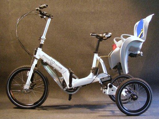 自転車の 自転車 前輪駆動 : 前輪駆動の倒れない三輪自転車 ...