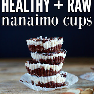 Healthy Raw Nanaimo Cups