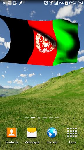 Afghanistan Flag 3D