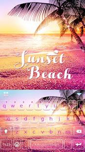 Sunset Beach Kika Keyboard 2