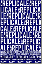 replicale tapping poster