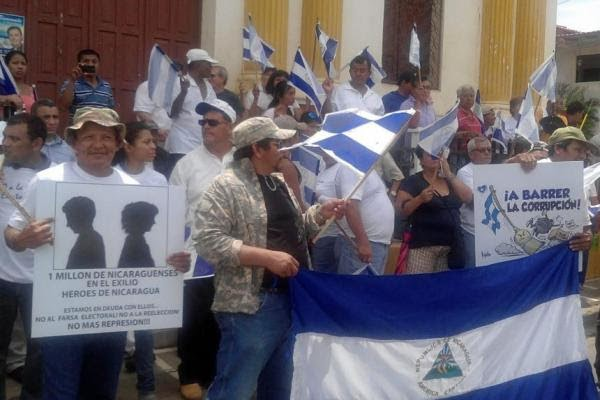 Rising death toll in Nicaragua as students demand ouster of socialist Ortega government