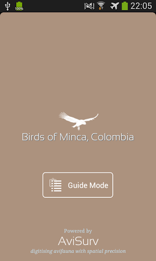 Minca Bird Guide Colombia