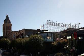 Photo: Ghirardelli Square, a former chocolate factory turned marketplace