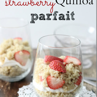Strawberry Quinoa Parfait Recipe