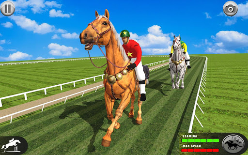 Horse Racing Games 2020: Horse Riding Derby Race apkmr screenshots 1