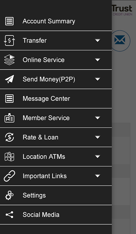 AlaTrust Credit Union- screenshot