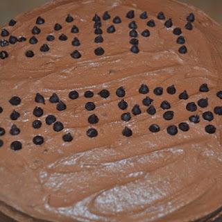Gluten Free Rich Chocolate Cake.