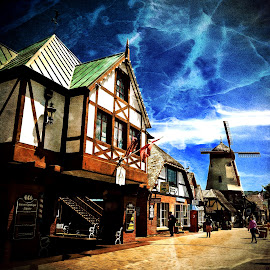 Solvang by Michael Villecco - Digital Art Places (  )