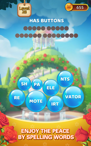Word Village - Word Bubble Crush & Puzzle Game android2mod screenshots 6