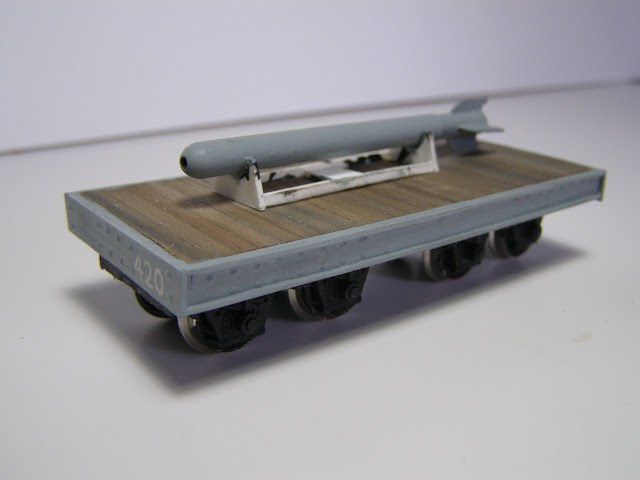 Bogie flat wagon