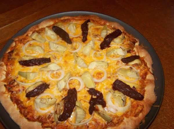 Chipolte Chicken And Artichoke Pizza Recipe
