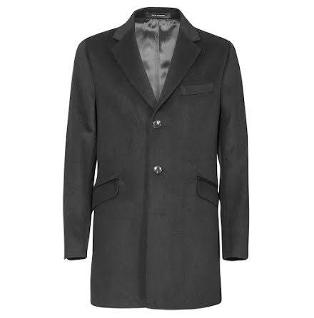 Oscar Jacobson Saks Coat mörkgrå