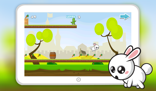 Tom Bunny Run Dash screenshot 1