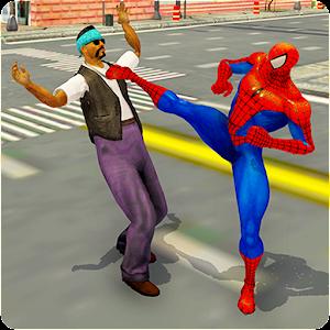 Superhero Street Crime Fighter 3D