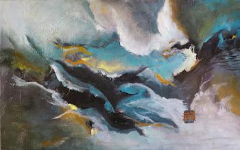 Photo: Stormy Seas 30x48 $1600