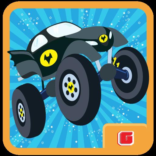 Batmobile Driving:Superhero