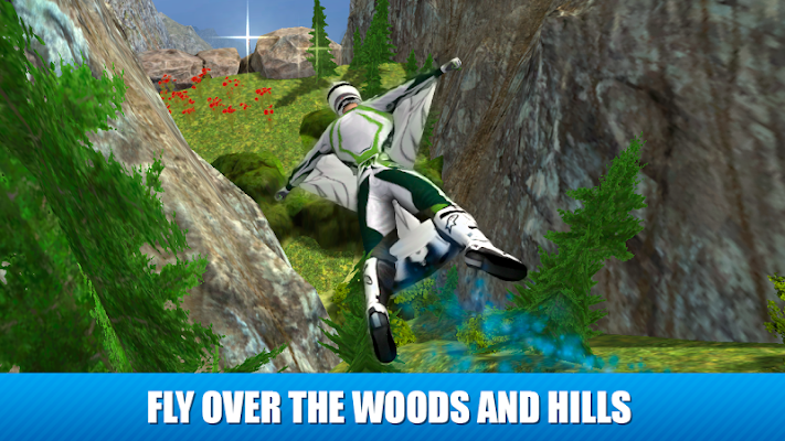 Wingsuit Flying Simulator 3D - screenshot