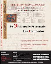 Photo: Cartel de las VII Jornadas de Ciencias y Técnicas Historiográficas, Huelva, junio de 2009