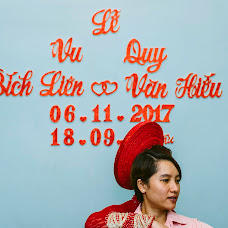 Wedding photographer Hoai bao Dang (reno300186). Photo of 09.11.2017