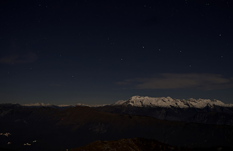 Notte sulle cime di galubio52
