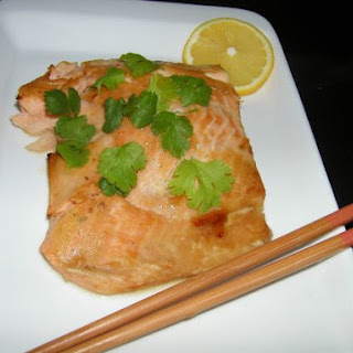 Grilled Ponzu Salmon