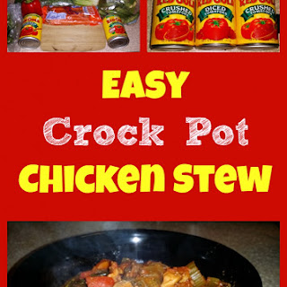 Easy Crock Pot Chicken Stew! Recipe