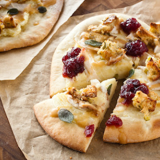 Thanksgiving Lover's Pizza.