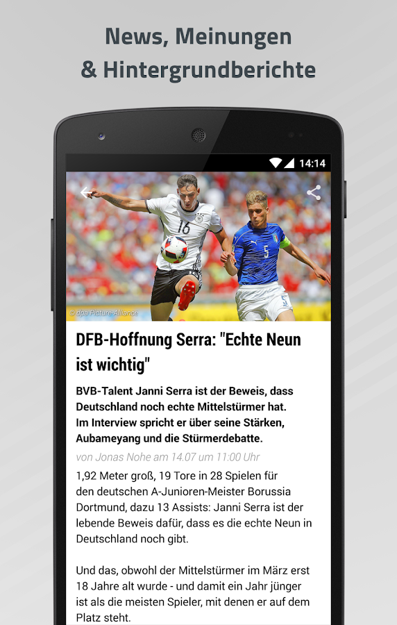 sport1 fußball news