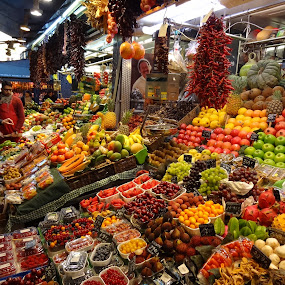 La Boqueria by Bruno Machado - City,  Street & Park  Markets & Shops ( pwcmarkets )