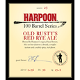 Logo of Harpoon 100 Barrel Series Old Rusty's Red Rye Ale