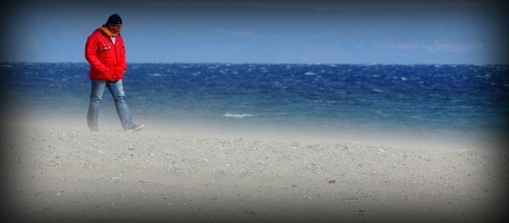 Vento in spiaggia di Giovanni Coccoli
