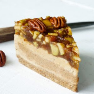 Apple Pecan Ice Cream Cake.