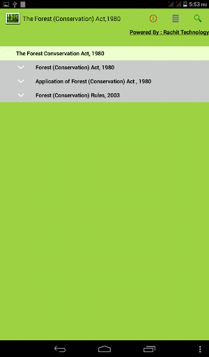 The Forest Conservation Act