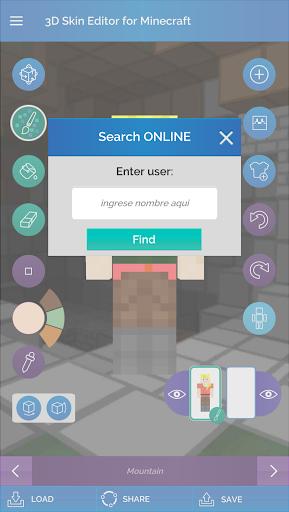 QB9's 3D Skin Editor for Minecraft 2.1.0 screenshots 7