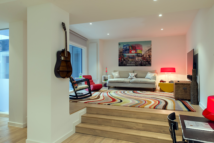 living space at Amp London