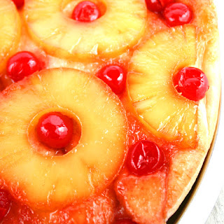 Pineapple Upside-Down Pizza